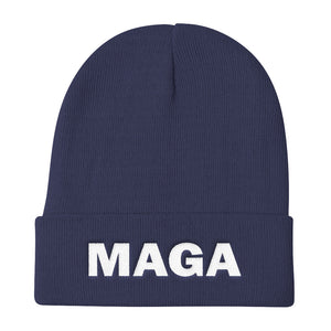 MAGA Make America Great Again Blue Beanie