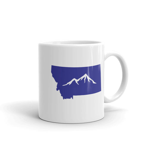 Montana State Mountain Coffee Mug