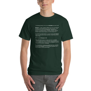 PELOSIUM Densest Element Ever Green Mens Shirt