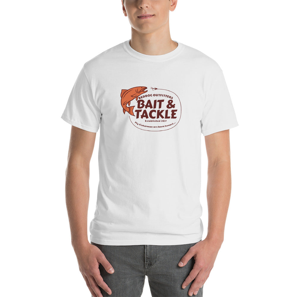 Reddog Outfitters Bait and Tackle Mens White Shirt Version 1