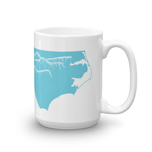 North Carolina Mountains Coffee Mug Large
