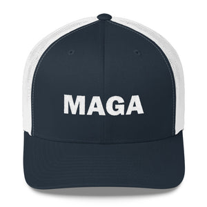 MAGA Make America Great Again Trucker Cap with White Logo