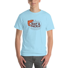 Reddog Outfitters Bait and Tackle Mens Light Blue Shirt Version 1