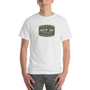 Reddog Outfitters Duck Shot Ammunition White Mens Tshirt