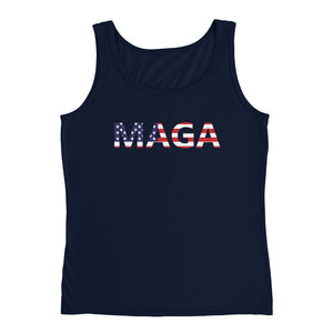 MAGA Make America Great Again Womens Tank Top Shirt