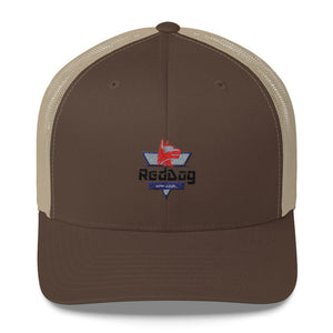 Reddog Apparel Logo Hat designed by Objective Design