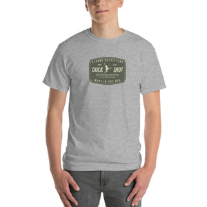 Reddog Outfitters Duck Shot Ammunition Gray Mens Tshirt