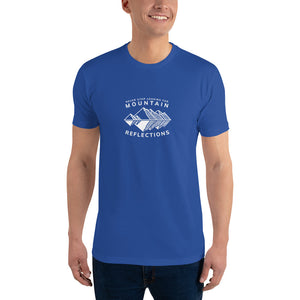 Never Stop Looking for Mountain Reflections Men T-Shirt
