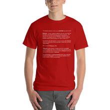 PELOSIUM Densest Element Ever Red Mens Shirt