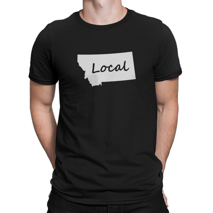 Montana State Local Shirt Black