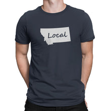Montana State Local Shirt Blue