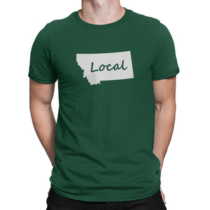 Montana State Local Shirt Green
