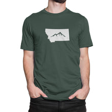 Montana State Mountain Shirt Green