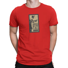 Rather Be Fly Fishing Mens Red Tshirt
