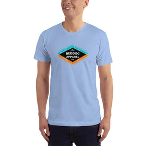 reddog apparel be yourself be confident be happy mens shirt light blue