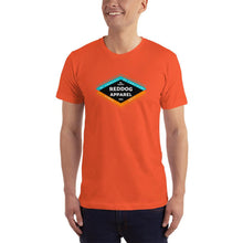 reddog apparel be yourself be confident be happy mens shirt orange