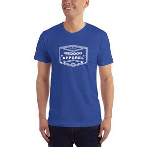 Reddog Apparel Be Yourself, Be Happy Diamond Logo Mens T-Shirt Blue