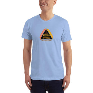 Reddog Apparel Embarce Detours Triangle Logo Mens Shirt Blue