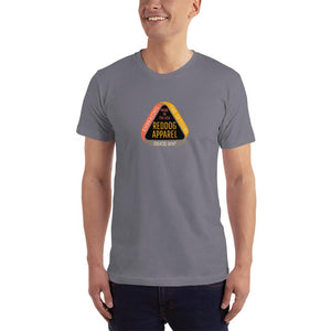 Reddog Apparel Embarce Detours Triangle Logo Mens Shirt Gray