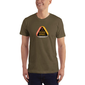 Reddog Apparel Embarce Detours Triangle Logo Mens Shirt Green