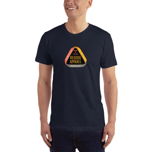 Reddog Apparel Embarce Detours Triangle Logo Mens Shirt Navy