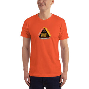 Reddog Apparel Embarce Detours Triangle Logo Mens Shirt Orange