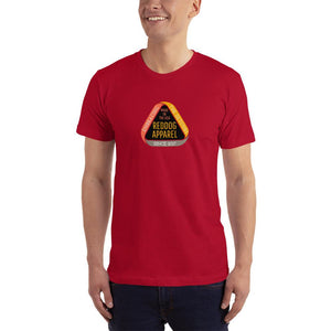 Reddog Apparel Embarce Detours Triangle Logo Mens Shirt Red