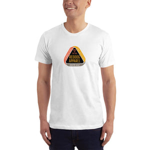 Reddog Apparel Embarce Detours Triangle Logo Mens Shirt White