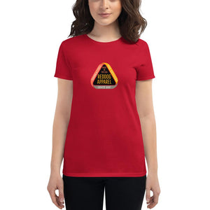Reddog Apparel Embrace the Detours Triangle Logo Womens T-shirt