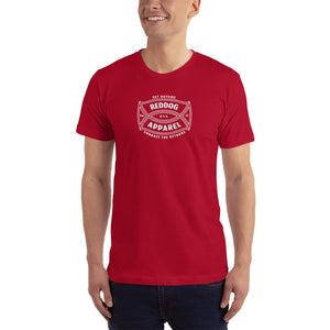 Reddog Apparel Get Outside Embrace the Detours Logo Mens Shirt Red