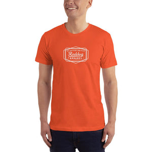 Reddog Apparel Get Outside and Play Logo Mens Shirt Orange