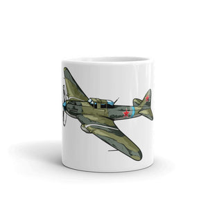 Russian Schturmovik Airplane Coffee Mug