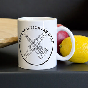 A10 Warthog Fighter Clube Coffee Mug Real