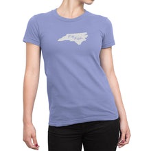 Womens North Carolina Fly Fish Shirt Purple