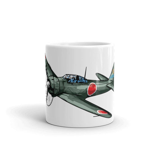 Japanese Zero Airplane Coffee Mug