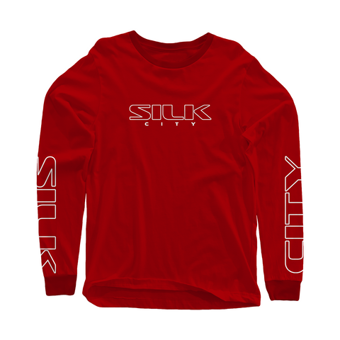 Silk City Long Sleeve (Red)