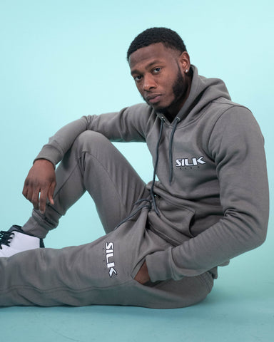 Sweatsuit (Grey/Black/White)