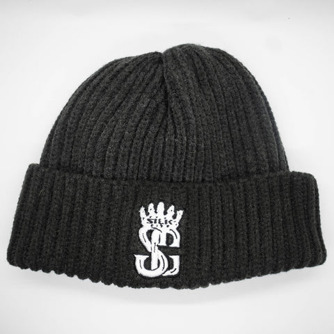 Beanie (Grey/Black/White)