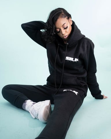 Sweatsuit (Black/Grey/White)