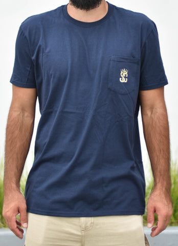 Pocket T (Navy Blue)