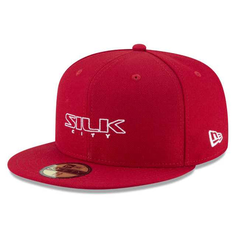 New Era Silk City 59Fifty (Red)
