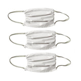 3 PACK- 2 PLY MASK-WHITE