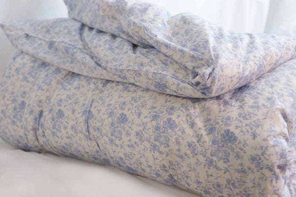 NEW! French Toile Bedding -Soft Blue