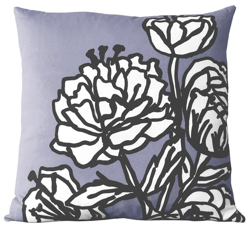 Ella Pillow by Andrea Bernstein - Chambray