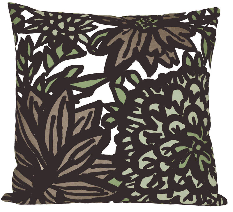 FLORA Pillow by Andrea Bernstein - NATURAL