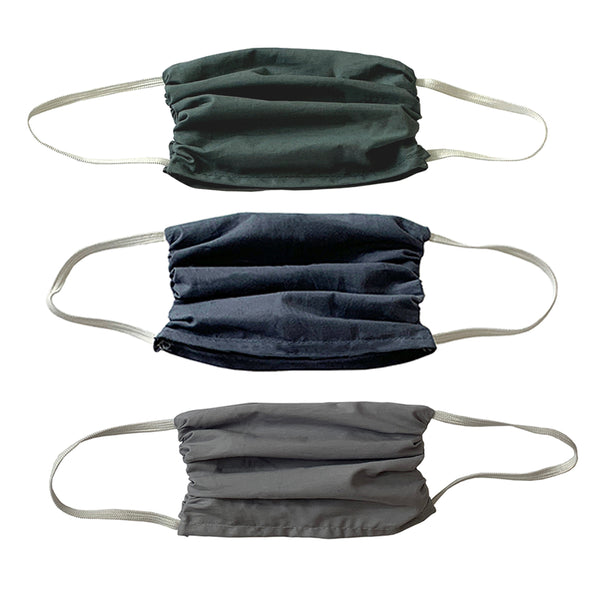 NEW! Trio  3 layer Mask Set-Guy Colors 3 Ply Masks Set- 3 Pack