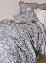 Sample Set #18  Vintage Paisley Twin Duvet Set-Ink