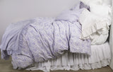 NEW! French Toile Bedding -Lilac /White