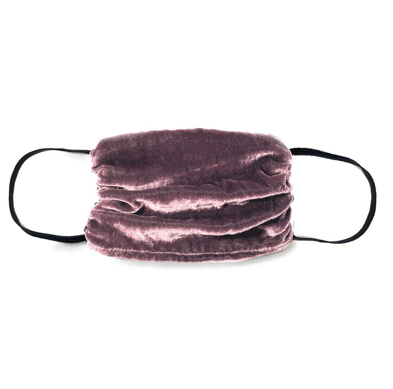 NEW! Vintage Velvet Face Mask- Mauve -1 Unit
