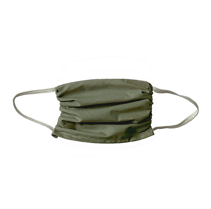 NEW! Colorful  Cotton Face Mask- Olive Drab-1 Unit